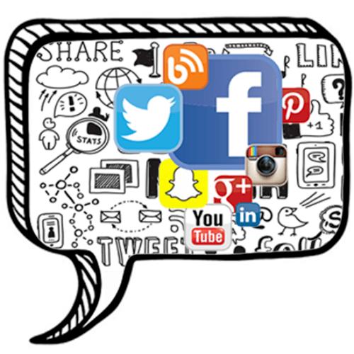 Digital Marketing Social Media Marketing Facebook Twitter Snapchat Youtube Google Plus Bing Pinterest Instagram Icon